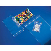 """5"""" x 8"""", 2 Reclosable Clear Ziplock Bags, Pack of 100"""