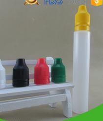 30ml Unicorn Dropper LDPE Plastic Bottle with Child Proof Tempered Black Cap