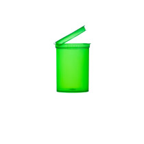 30 Dram Green Child Resistant Pop-Top Bottles