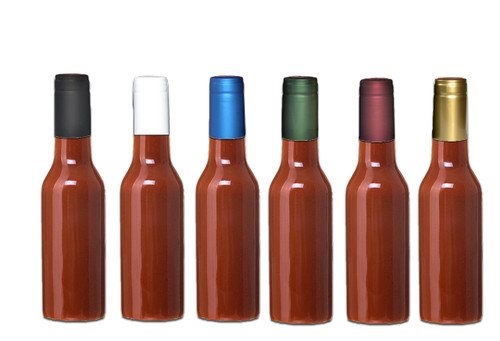 Gold Shrink Capsules For Glass Woozy Hot Sauce Amp Wine