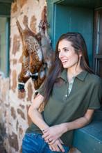 McKenna Quinn Polo Shirt in Hunter Green