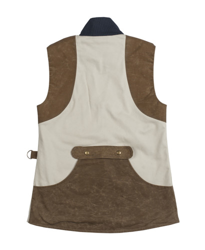 McKenna Quinn Shooting Vest in Khaki