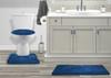 Mary 3 Piece Soft Plush Microfiber Rug Set, Bath Mat, Contour Rug, Lid Cover