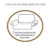 7 inch tucks