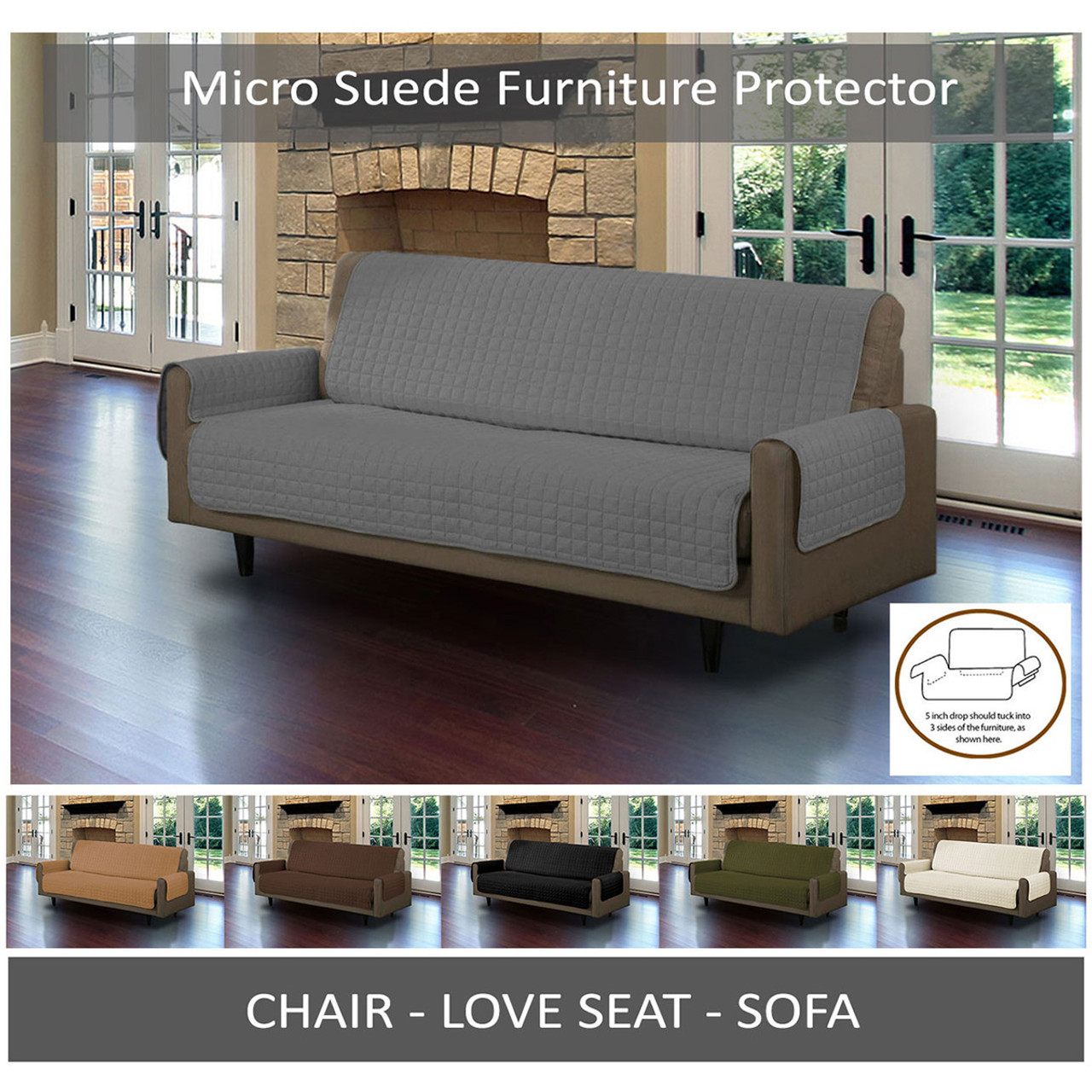 furniture protector cover quilted microsuede pet dog couch sofa with rh linenstore com sofa furniture protector walmart sofa furniture protector slipcover