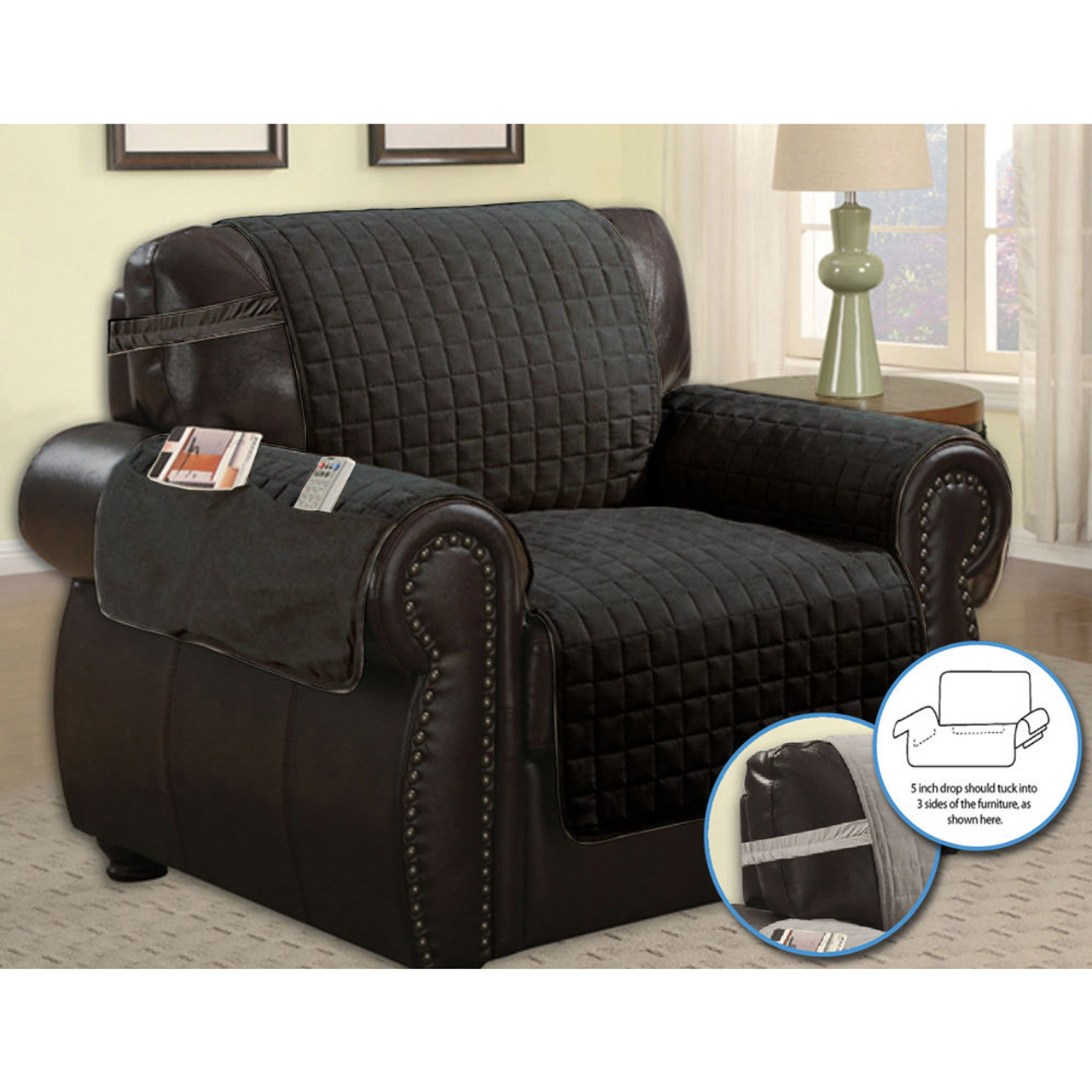 Furniture Protector Quilted Microfiber Pet Dog Couch With