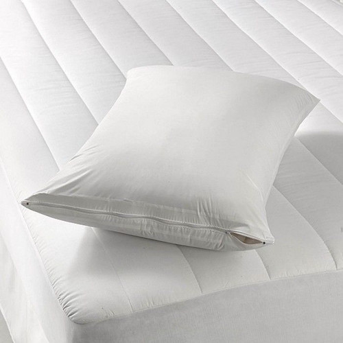 Zippered Fabric Mattress Cover Linen Store