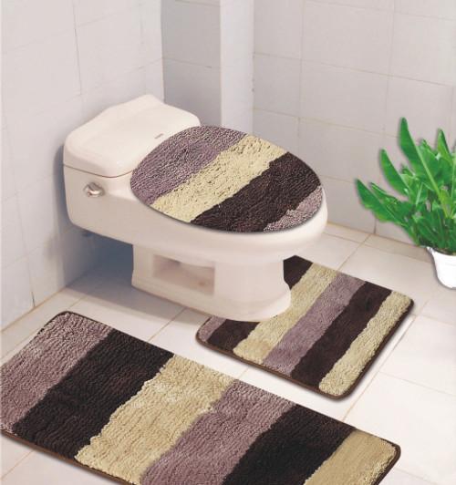 Denise 3 Pc Bath Rug Linen Store