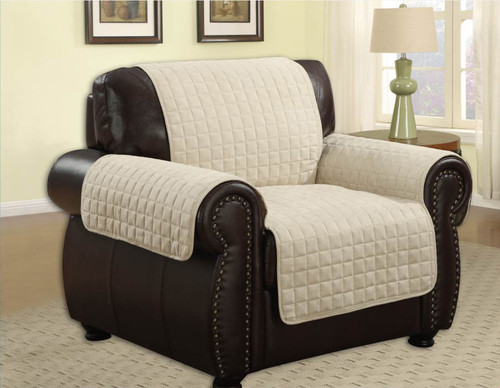 Quilted Microfiber Pet Dog Couch Furniture Protector Cover