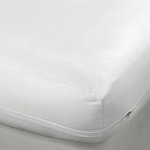 Non-Woven Zippered Mattress Cover, Bed Bugs Dust Mites Protector, Mattress Encasement - Twin, Full, Queen or King