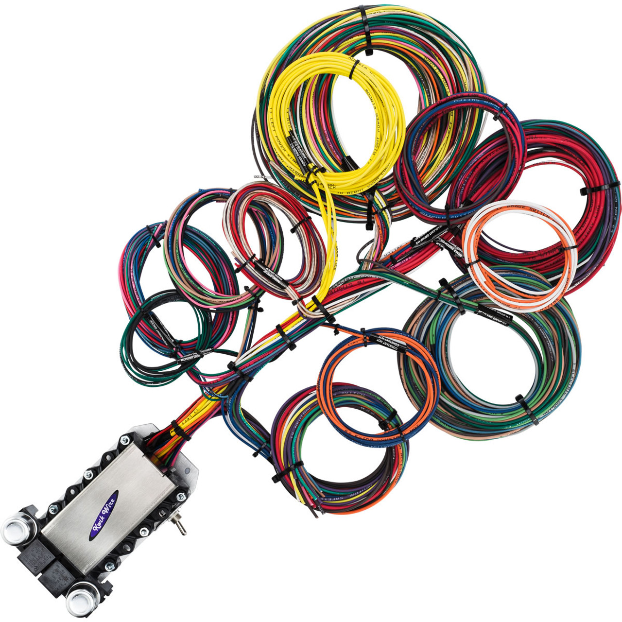 22 Circuit Wire Harness Electrify Your Ride Typical Wiring Schematic For Street Rod