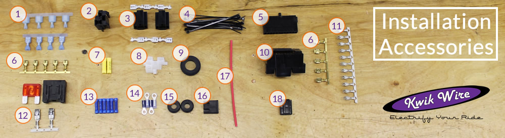 14 circuit wire harness kwikwire com electrify your ride rh kwikwire com Kwik Wire 14 Circuit Wiring Harness Sun Tachometer Wiring Diagram