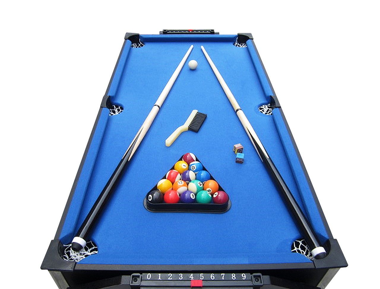 ... Playcraft Sport   Junior 2 In 1 Air Hockey And Pool Table ...