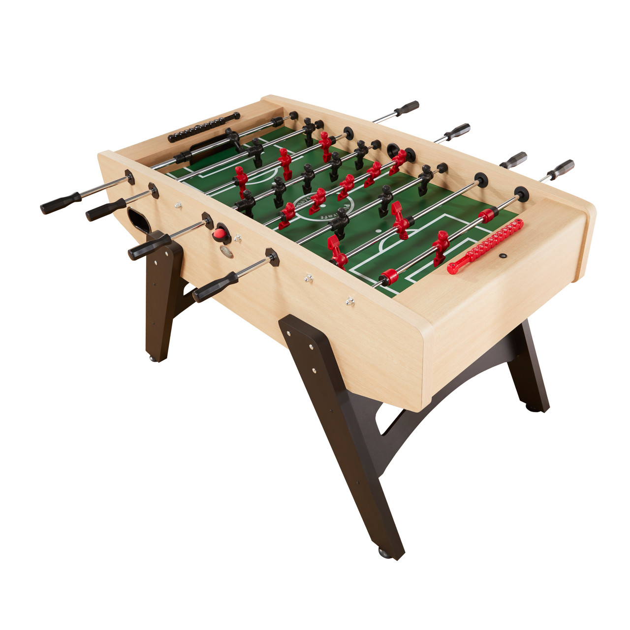 Milan European Foosball Table Light Maple Playcraft - Official foosball table