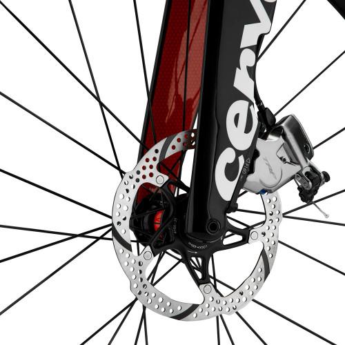 Cervelo P5X disc brakes