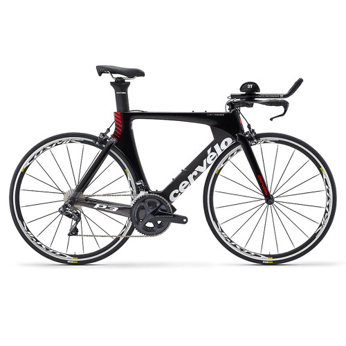 Cervelo P3 Ultegra Di2 8060 Grey Red