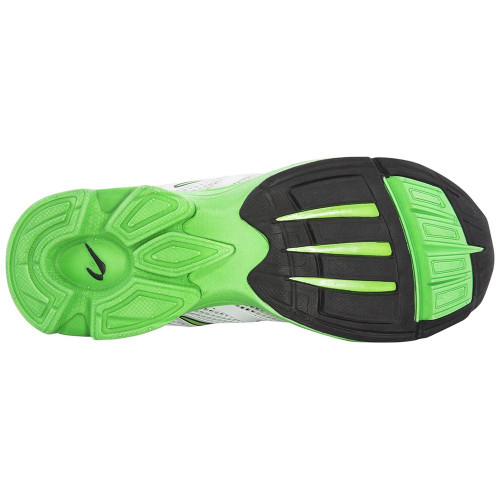 Newton Distance Elite Men White/Lime