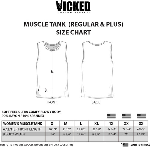 Bad And Boozy - Muscle Tank