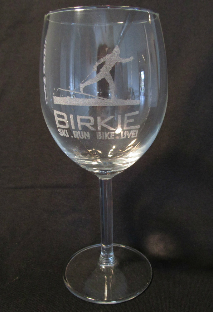 Birkie Wine Glass