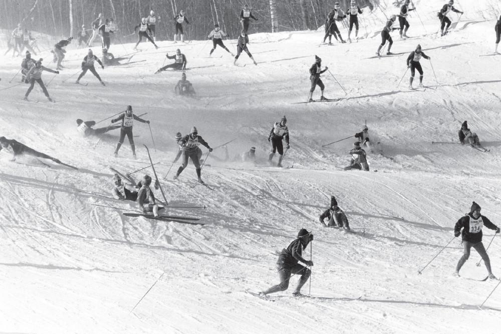 Postcard - Decending Mt Telemark