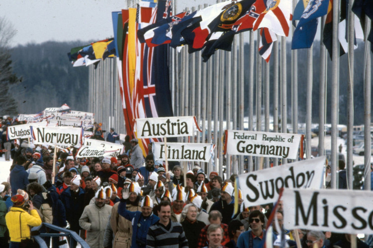 Postcard - Parade of Nations