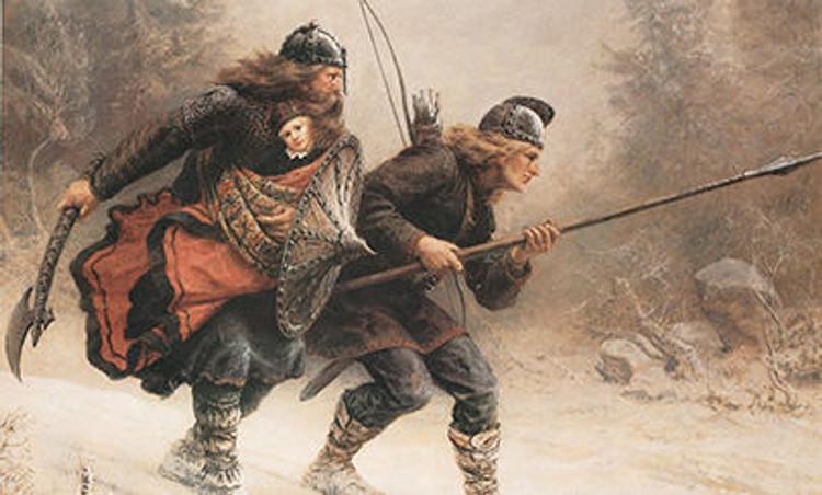 Postcard - Warrior Painting