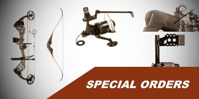 Special Orders Archery Supplies