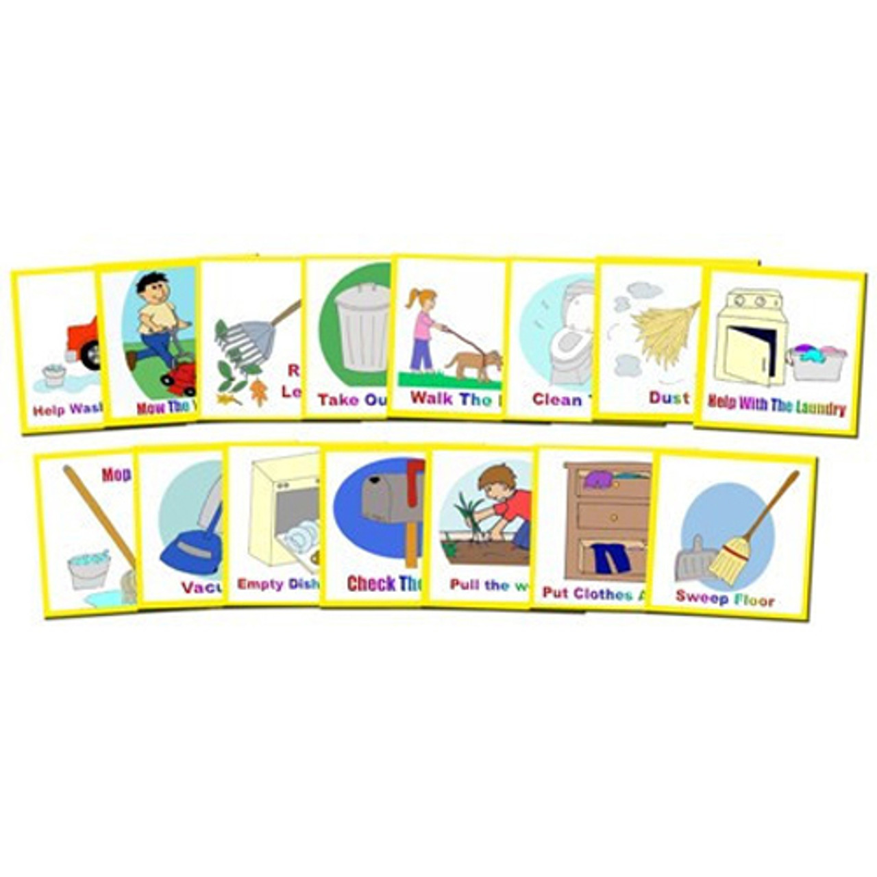 I Can Do It Supplement Chore Pack: Autism Visual Supports