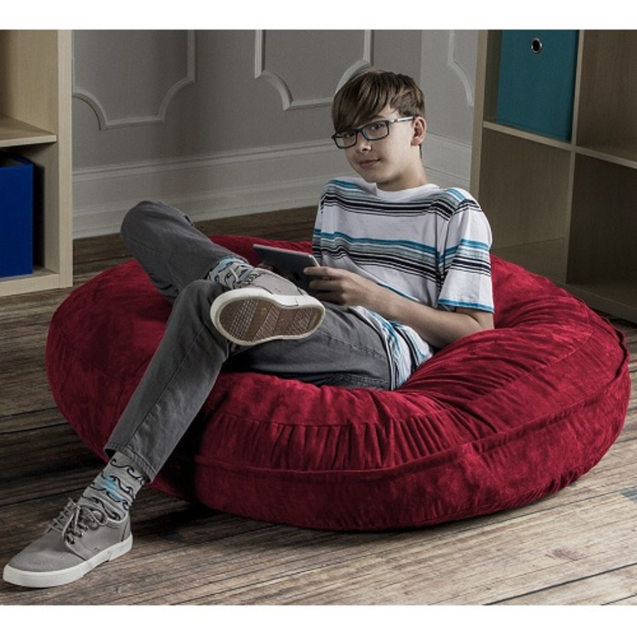 Calming Beanbag Chair For Teens With Autism.