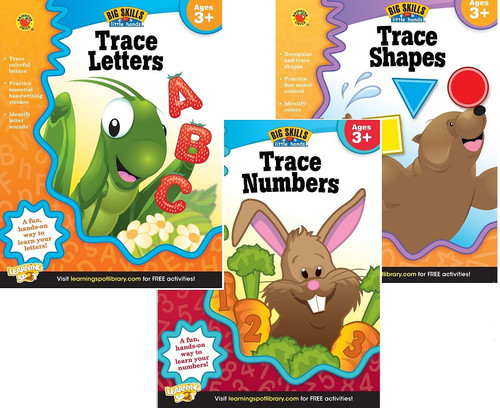 trace letters numbers shapes workbook national autism resources