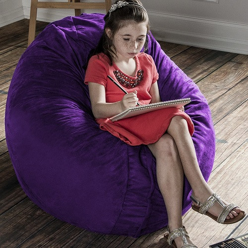 Calming And Comforting Beanbag Chair For Special Needs Kids.