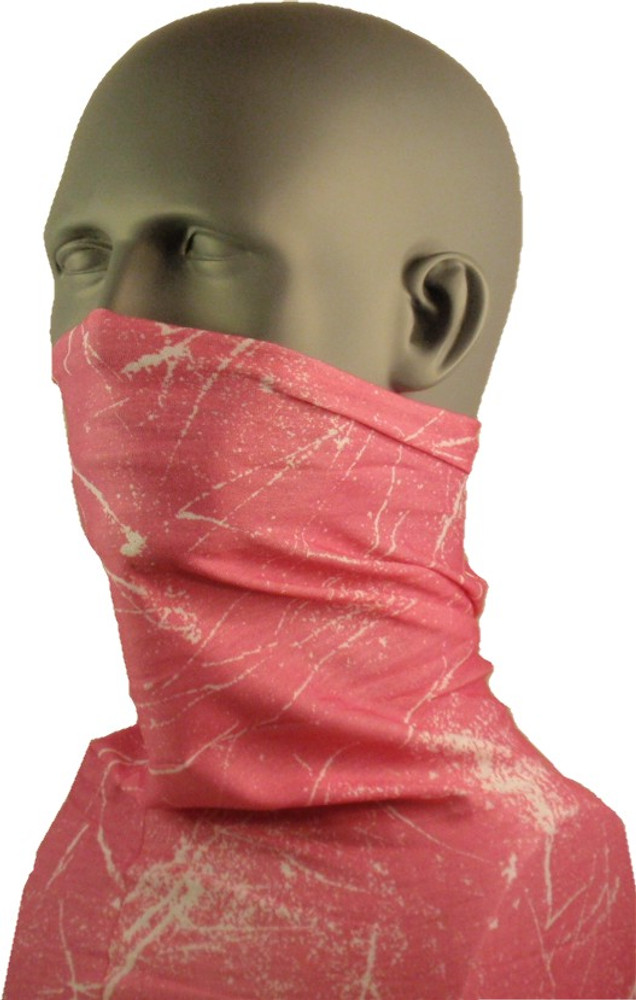 Schampa Tube, pink and white fusion, Multifunctional Headwear
