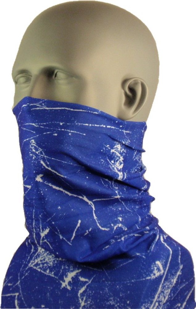 Schampa Tube, Blue and White Fusion, Multifunctional Headwear