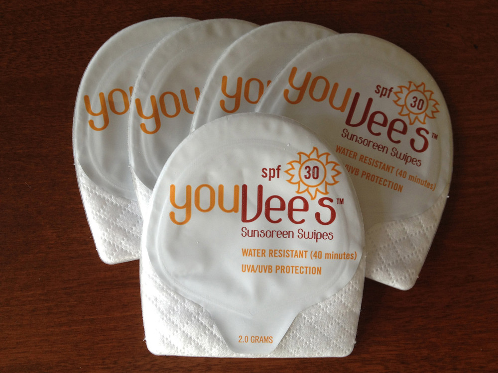 YouVee's Swipes - High Performance Sunscreen With Finger Pocket!