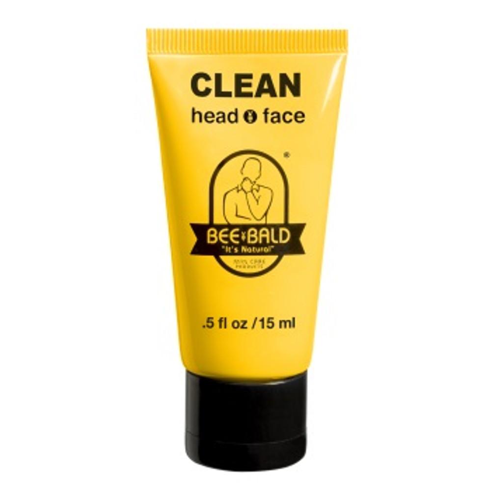 BEE BALD CLEAN TRAVEL SIZE - .5 oz. Tube