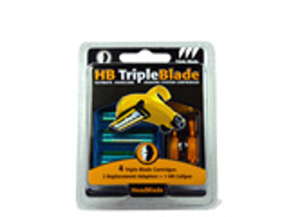 Triple Blade Accessory Kit - 4 Cnt - HeadBlade.