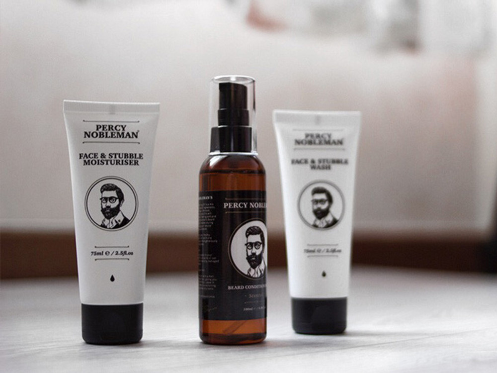 Face & Stubble Moisturizer By Percy Nobleman