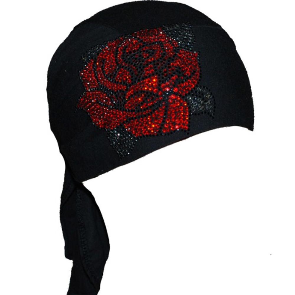 Red Rhinestone Rose Stretch TotalWrap