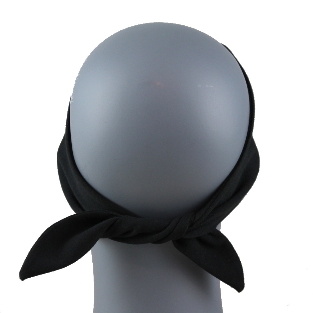 Clear Rhinestone Ride To Live Stretch HeadBand