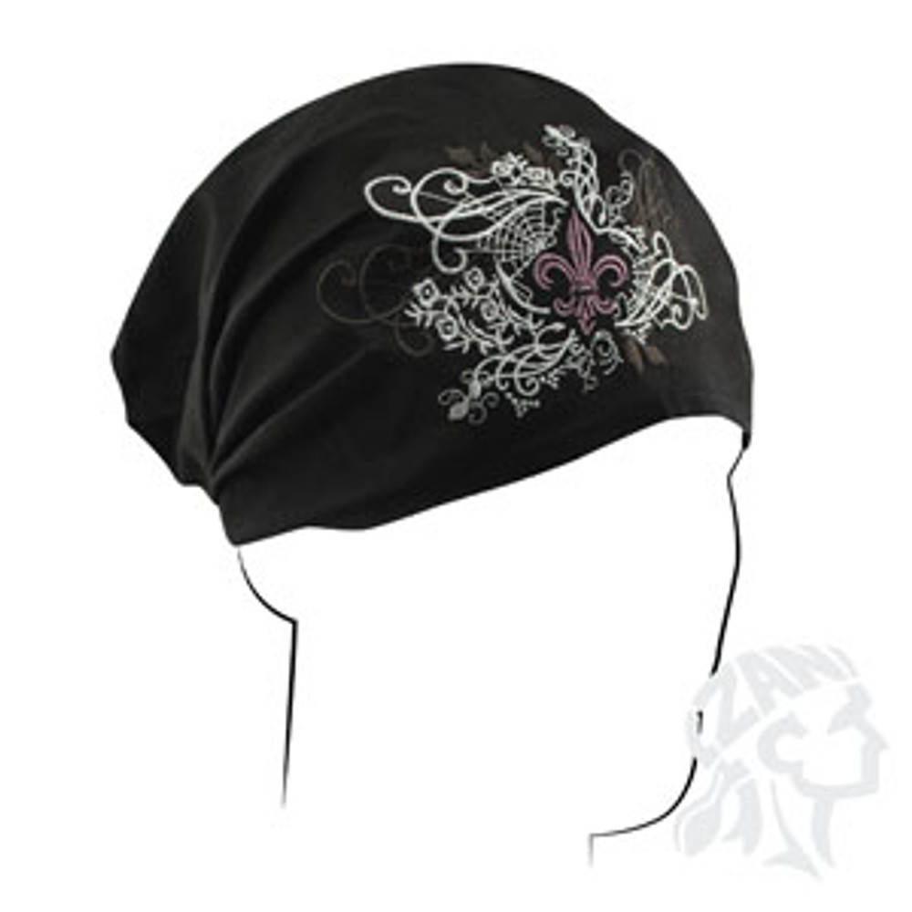 Headwrap, Highway Honey, Fleur de Lis