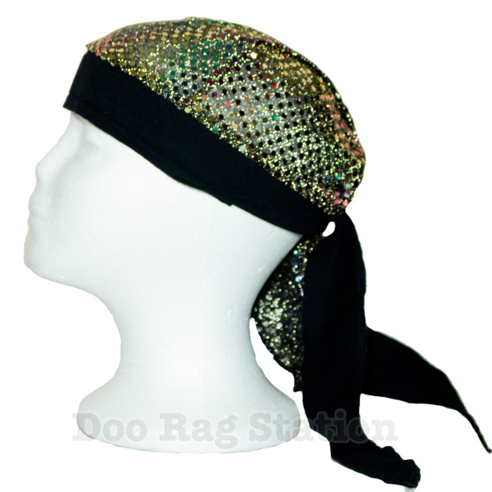 Stretchy - Shimmering Multi-Shades By Doo Rag Station