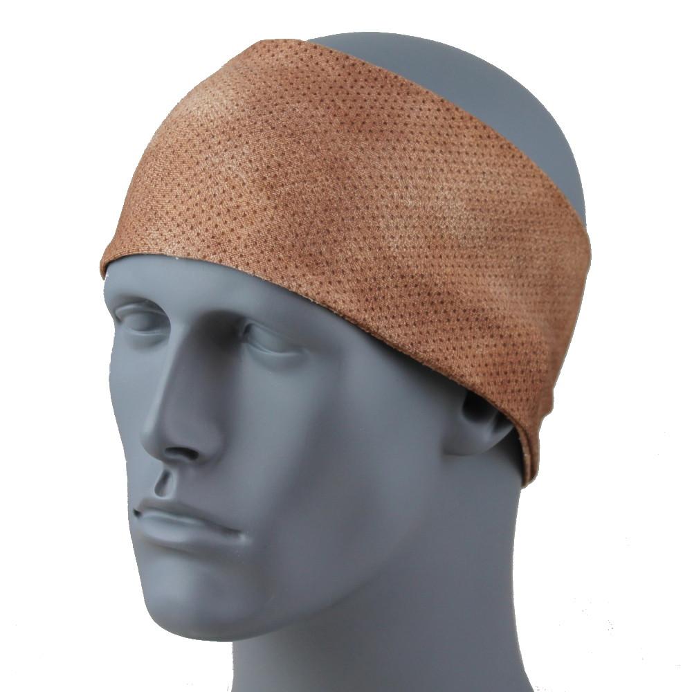 "Metallic Suede SoftSpun Stretch 3.5"" HeadBand By DesignWraps"