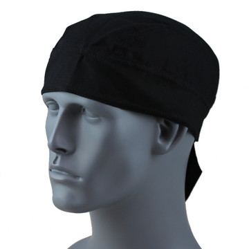 Fitted Black - Velcro Closure