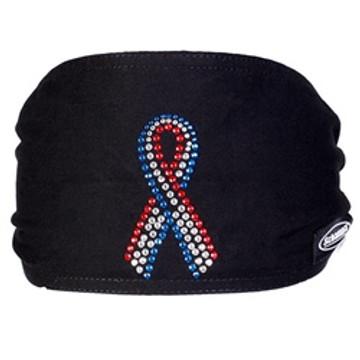 "Jeweled Mini ""Old School"" Doo-Z - American Flag Ribbon"