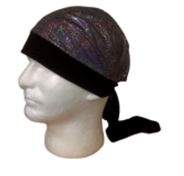 Silver Glitter By Doo Rag Station