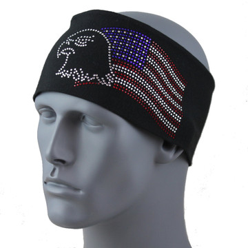 "American Eagle 3.5 in. headband 3.5"" Headband By DesignWraps"