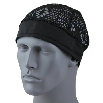 Black Lace Circular By Doo Rag Station