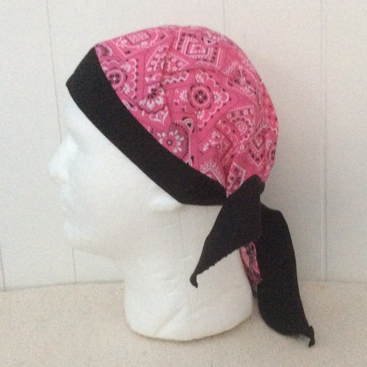 Pink Paisley - By Doo Rag Station