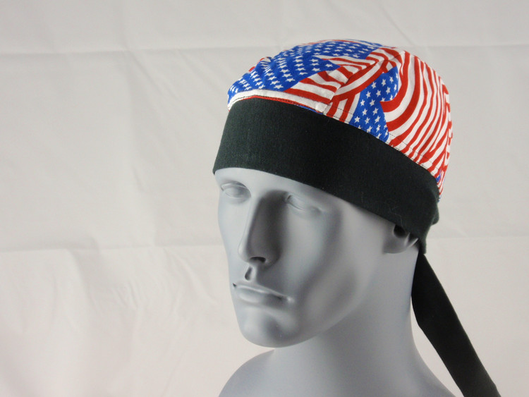 Schampa, Z-wrap, Stretch Bandana, New American Flag