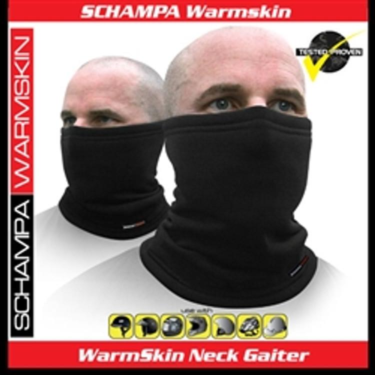 WarmSkin NeckGaitor, Black - Schampa